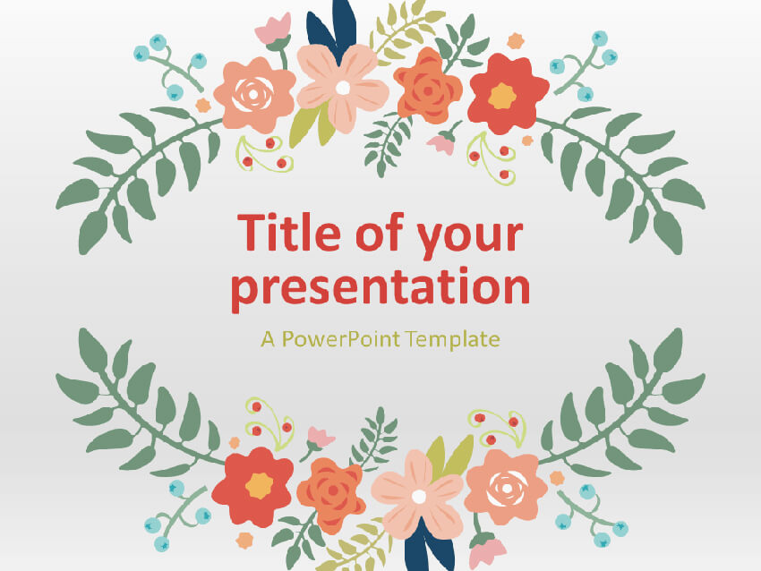 25 Free Cute Powerpoint Slide Templates To Make Playful