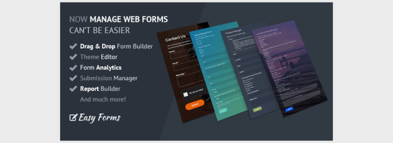 Easy Forms Advanced Form Builder and Manager
