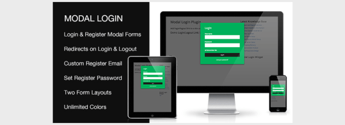 Login Capital Register Forgotten WordPress Plugin