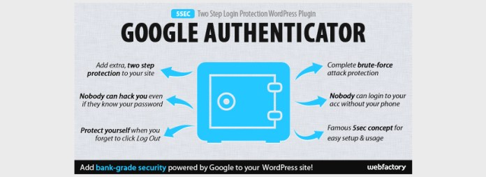 5sec Google Authenticator 2-Step Login Protection