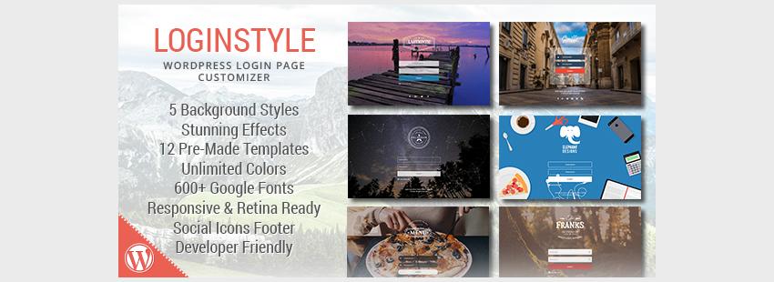 Loginstyle WordPress Login Page Styler