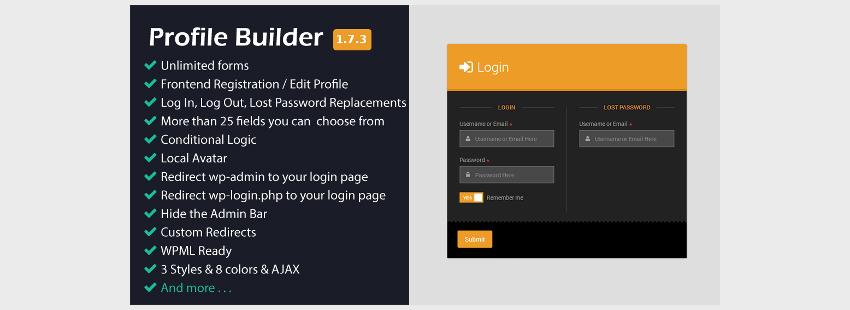 Profile Builder for Forms Management System