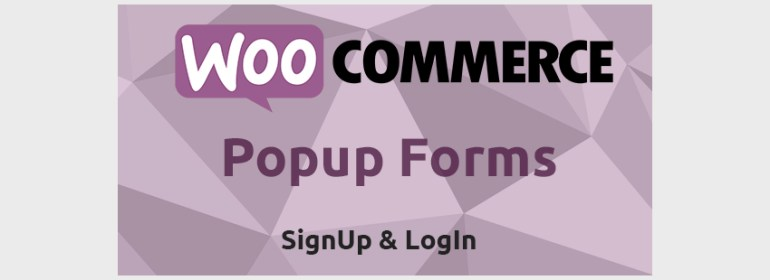 WooCommerce Popup Signup  Login Forms