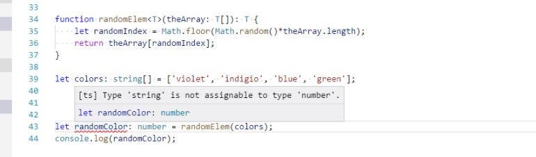 TypeScript Generics Error