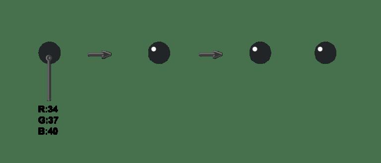 creating the kawaii eyes