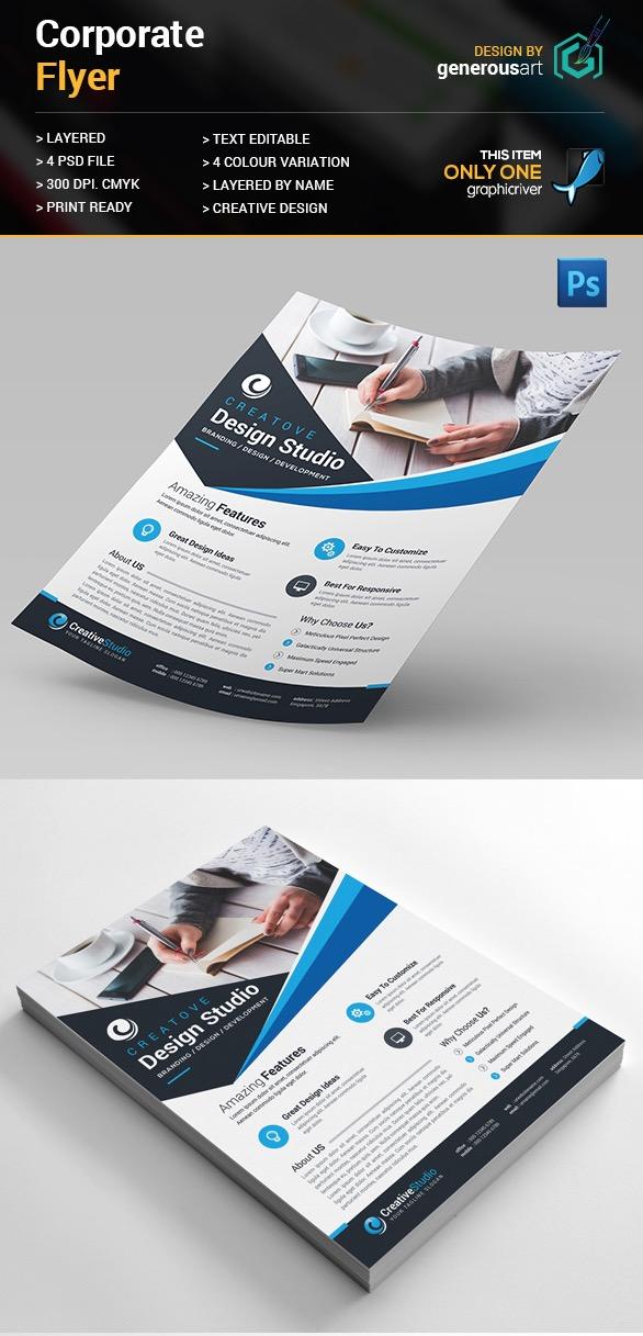 Design creativo Flyer aziendale
