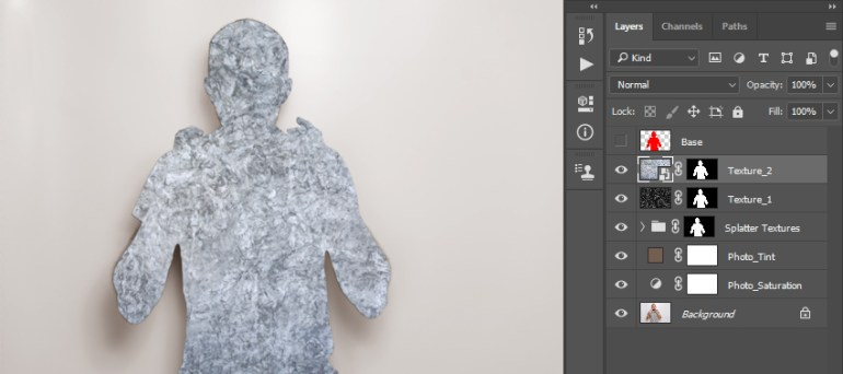 Adding layer mask