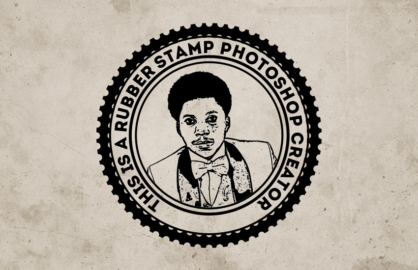 Rubber Stamp Effect