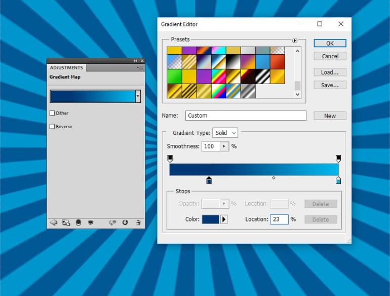Gradient Map Photoshop Adjustment Layer