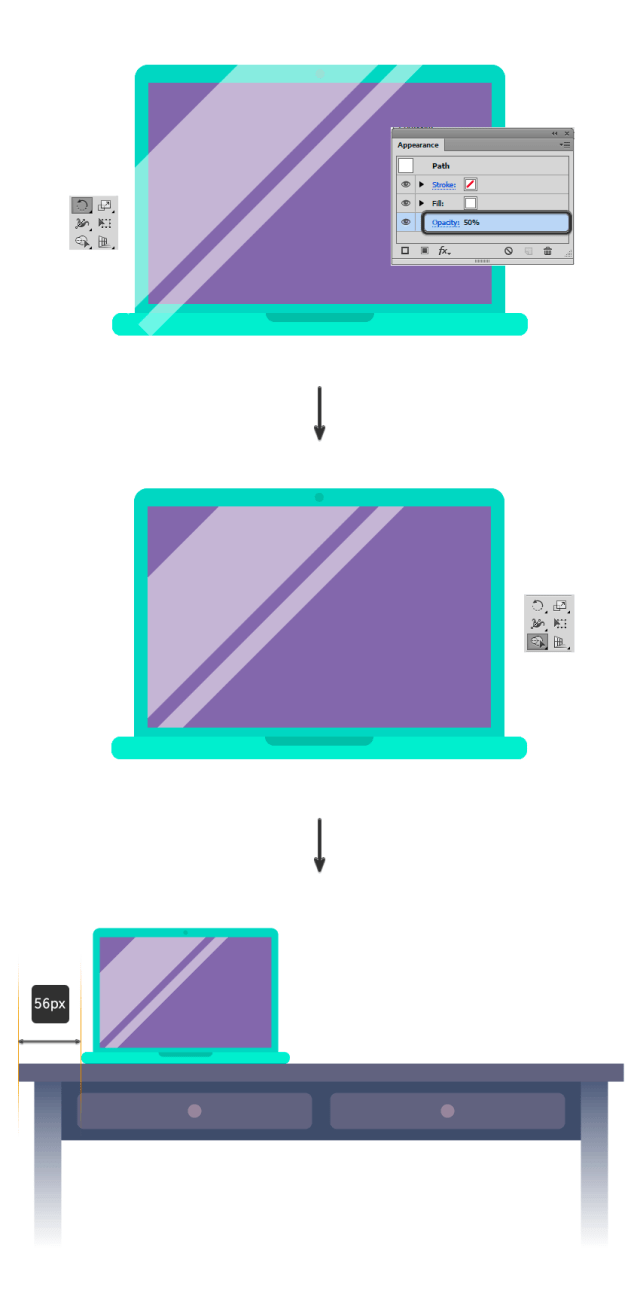 Adding a highlights to the screen