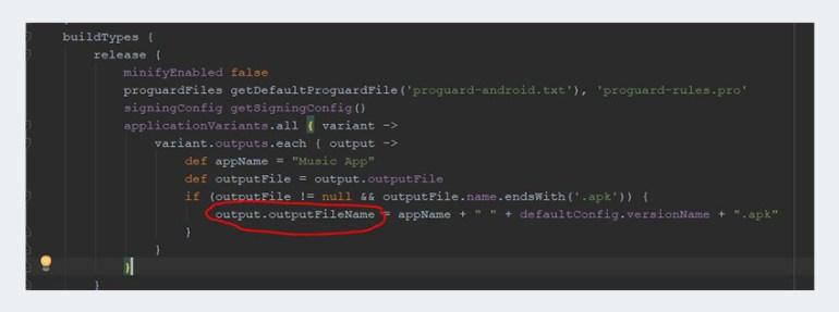 Project Gradle file