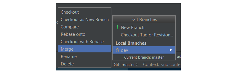 Merging dev branch to master