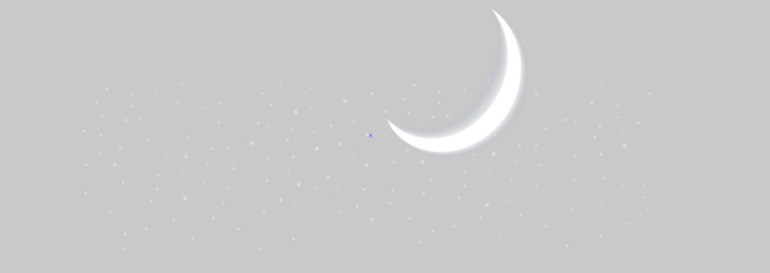 vector mesh moon