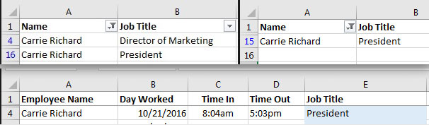 Lookup problem with two listings conflicting in our VLOOKUP