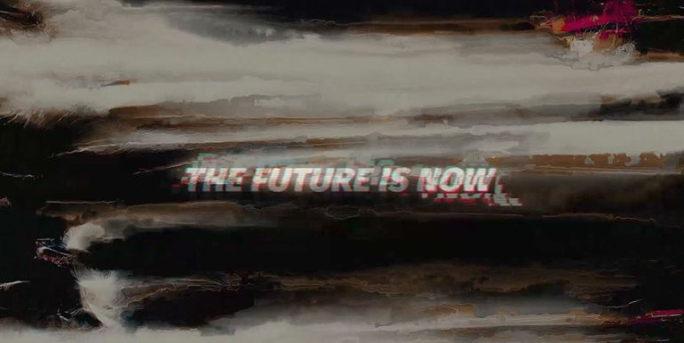 Glitch Logo Opener The Future