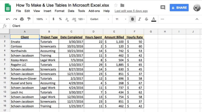 Screenshots in Google Sheets