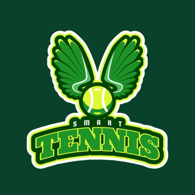 Tennis Logo Maker with Racket clipart