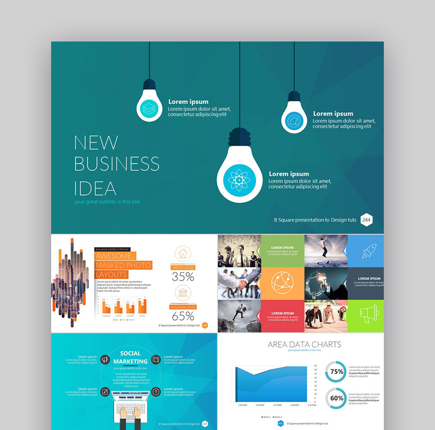 30 Professional Powerpoint Templates For Better Business