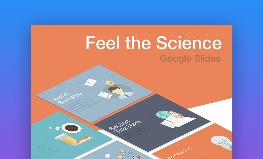 20 Best Free Science Technology Google Slides Themes