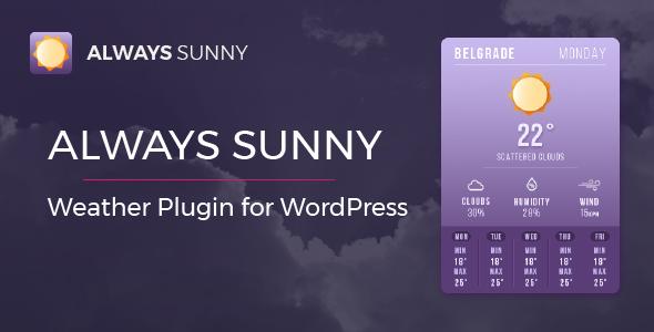 Always Sunny Plugin