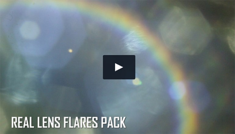 Real Lens Flares Pack