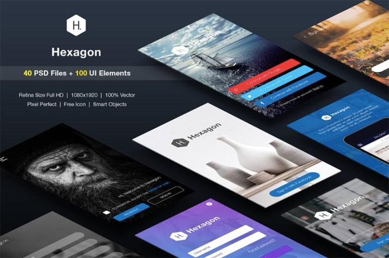 SignUp  Login - Mobile Form UI kit