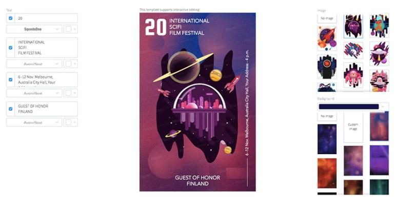 Design a Sci-Fi Film Festival Flyer