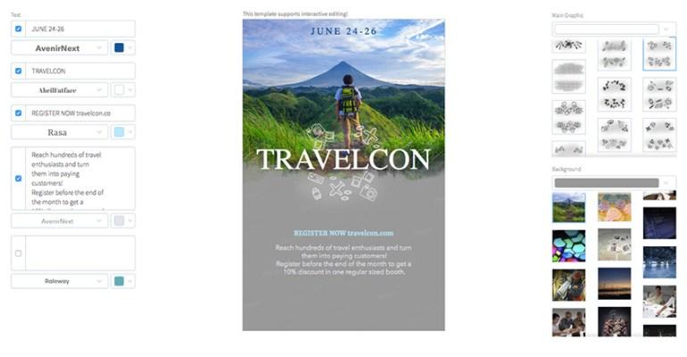 Tourism Trade Fairs Flyer