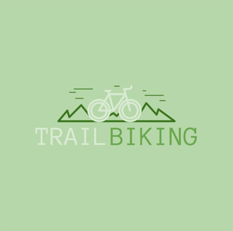 Mountain Bike Logo Creator for a Cycling Club