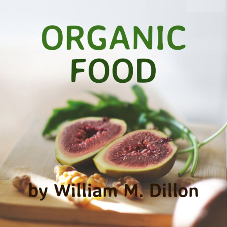 Book Cover Maker for Books about Organic Food