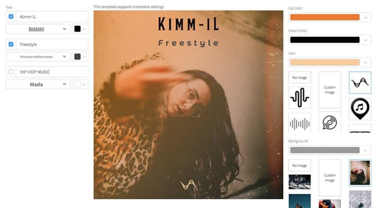 Freestyle Hip-Hop Album Cover Design Maker