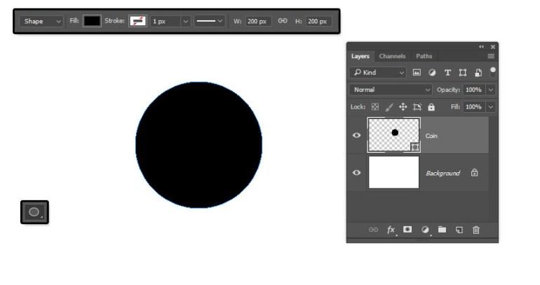 Create a Circle Shape
