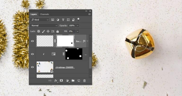 Modify the Background Glitter