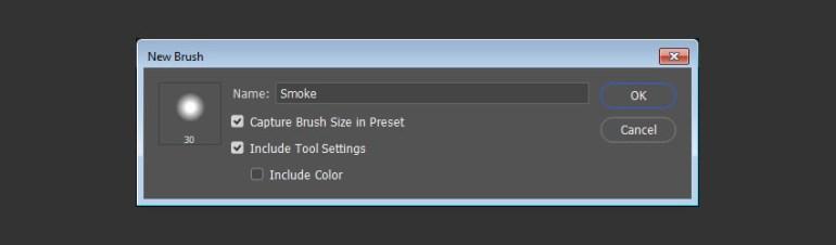 Create New Brush