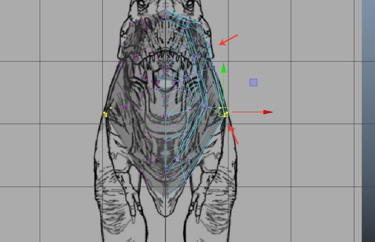 Edit the vertices also
