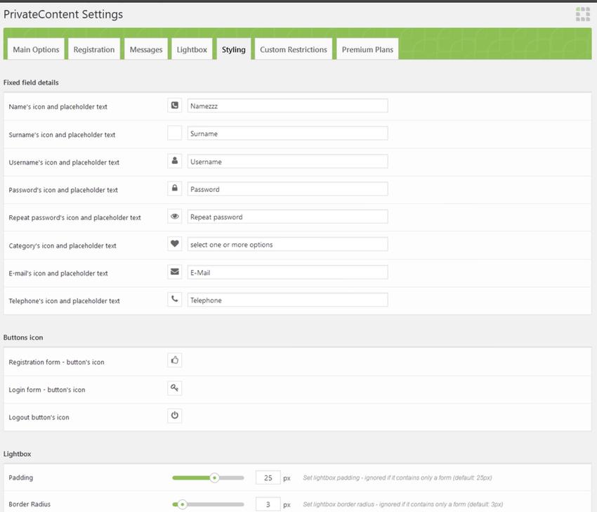 Private Content Multilevel Content Plugin