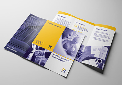 23 Best Trifold Brochure Templates Examples Word