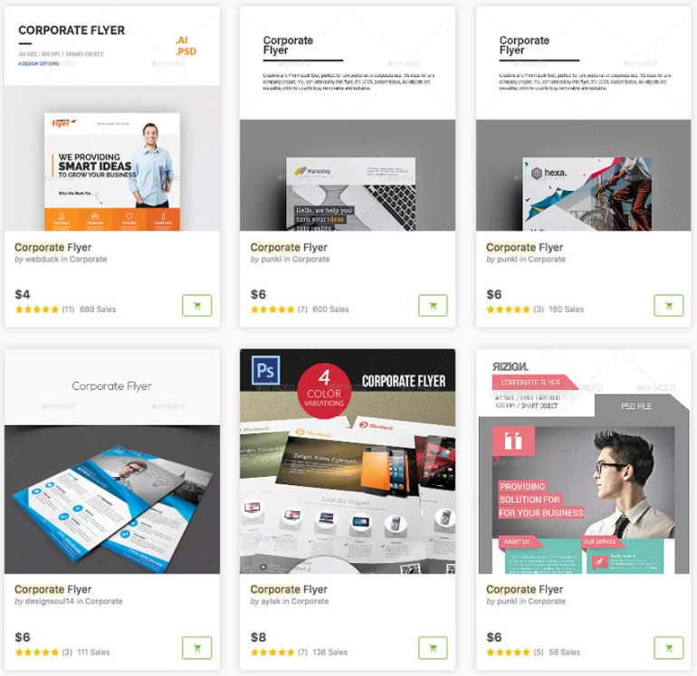 GraphicRiver - Business Flyer Templates