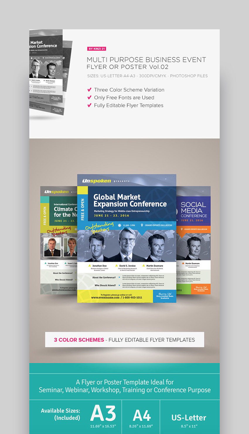 35 Business Flyer Templates Creative Layout Designs