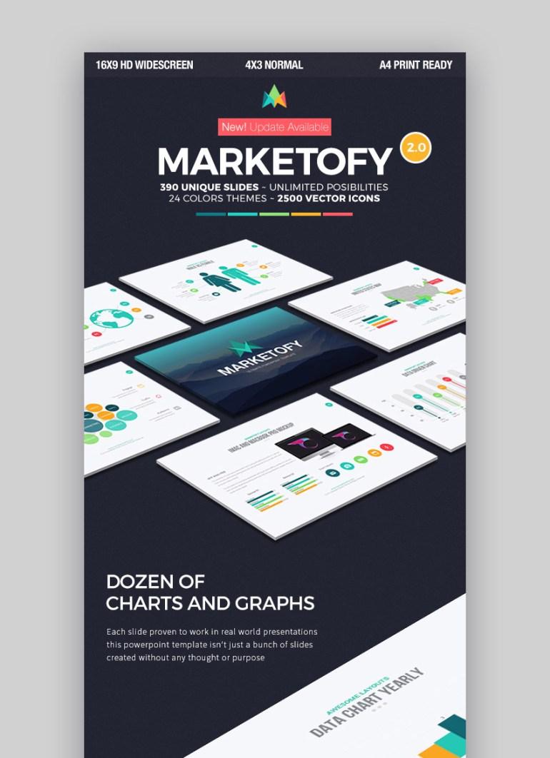 Marketofy PowerPoint Infographic Presentation Template