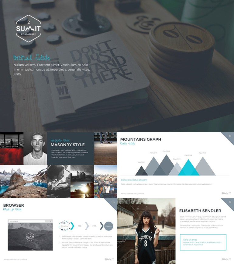 Summit 2 PowerPoint presentation template