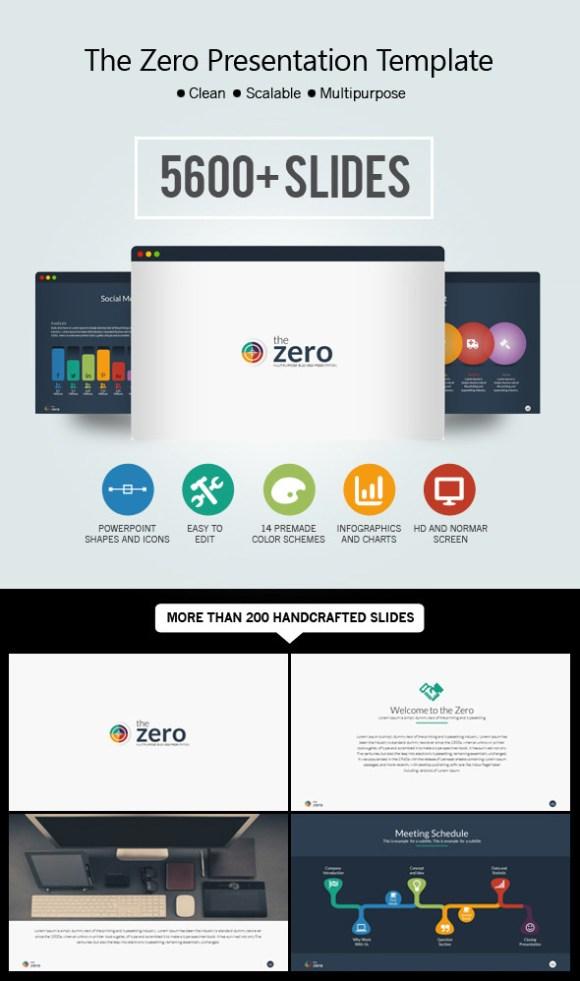 Zero - Modern PPT Theme