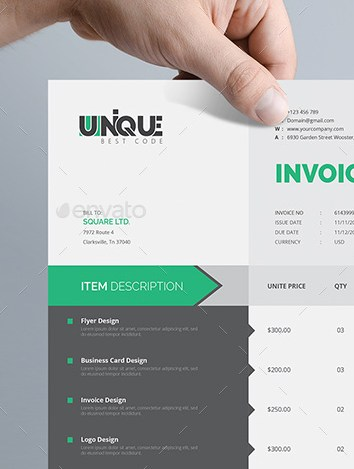 HD Decor Images » The Best Invoice Payment Terms to Avoid Past Due Invoices Creative Invoice Template