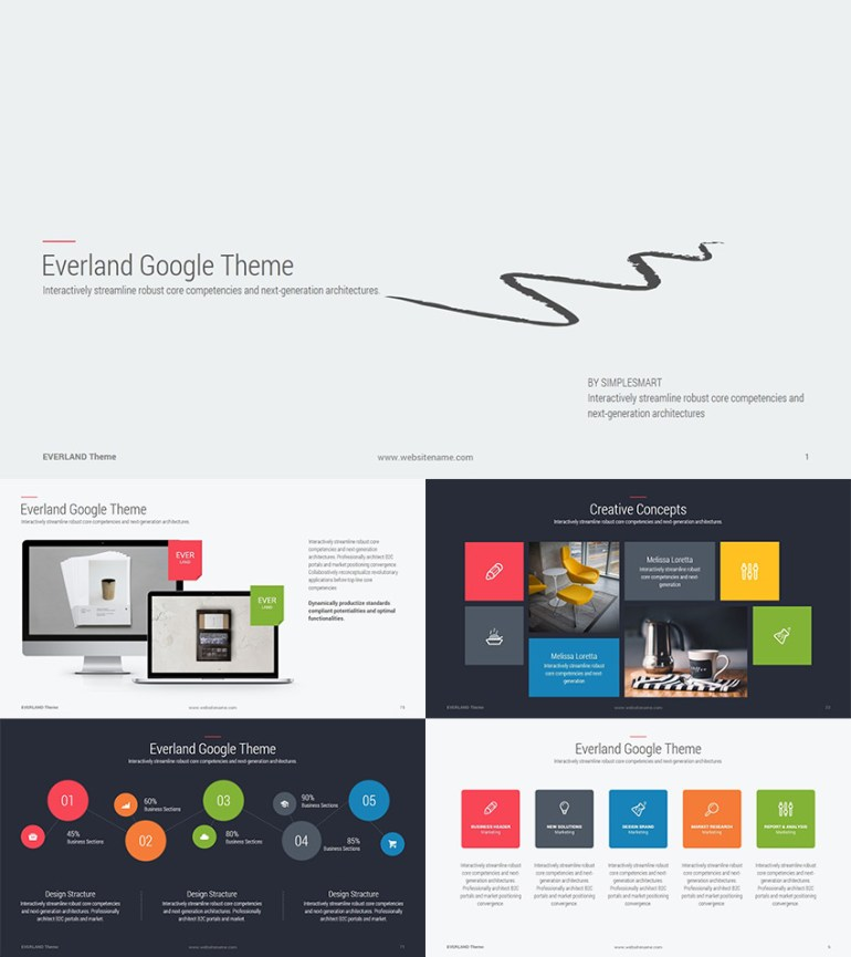 Everland Business Google Slides Theme
