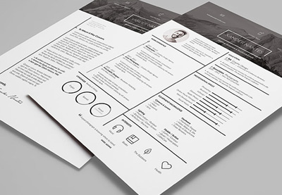 17 cool design idesignow. 15 creative infographic resume templates ...