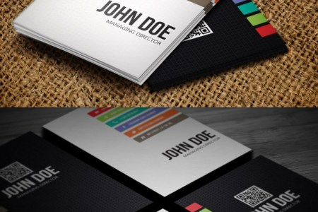 15 Premium Business Card Templates  In Photoshop  Illustrator     Minimal business card photoshop design