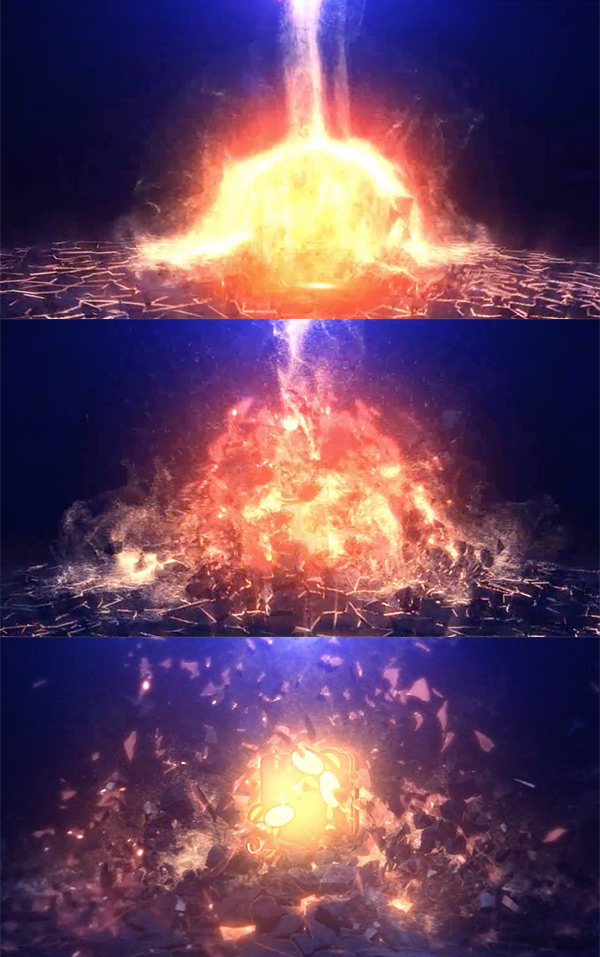 Epic Explosion Logo Video Animation