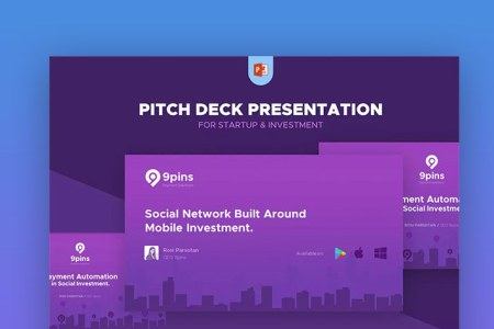 20 Best Pitch Deck Templates  For Business Plan PowerPoint Presentations Fintech   Startup Pitch Deck Template PPT Presentation