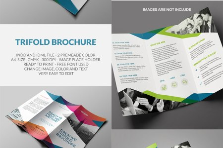 20 Best InDesign Brochure Templates   For Creative Business Marketing Trifold Brochure   InDesign Template