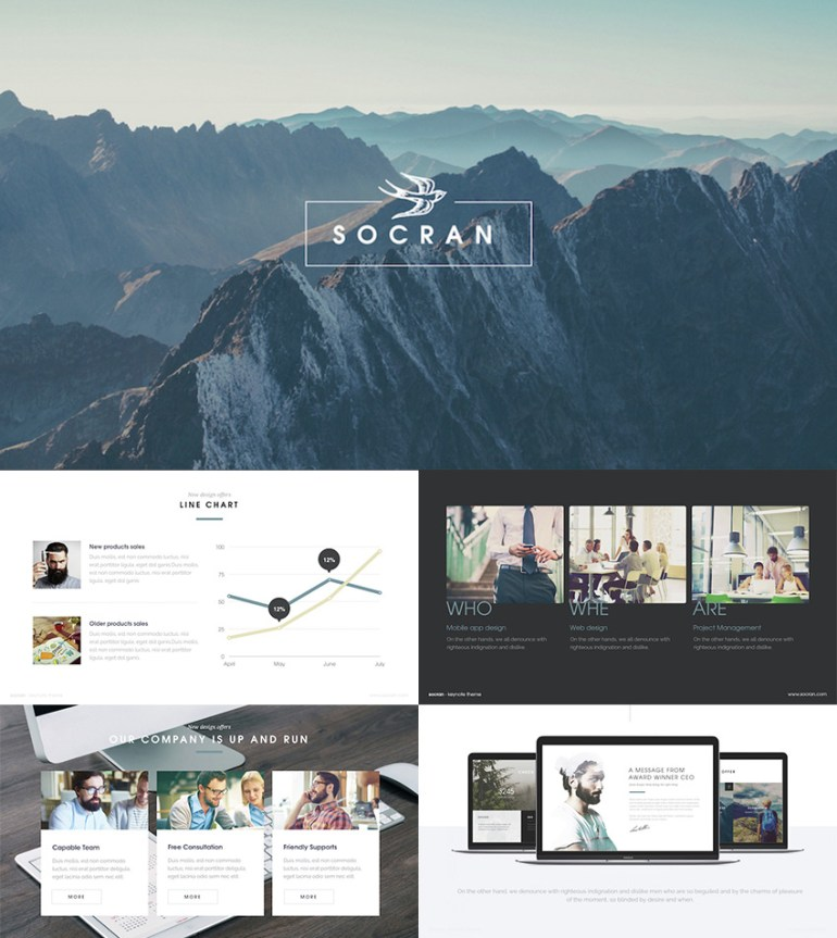 Clean  Modern PowerPoint Template